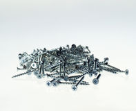 Stack of screws Royalty Free Stock Photos
