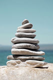Stack of Sea Pebbles Stock Image