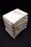 Stack of secret documents Stock Images