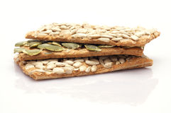 A stack of seed cracker Stock Photos
