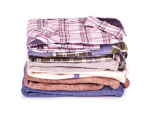 Stack of Shirts, Royalty Free Stock Images