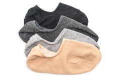 stack of short socks Royalty Free Stock Photos