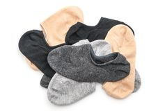 stack of short socks Stock Photos