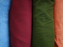 Stack silk fabric background,sportswear cloth texture