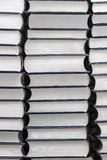 Stack of similar books Royalty Free Stock Photos