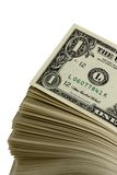 Stack of singles royalty free stock image