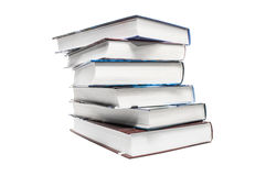 Stack of six books Stock Image