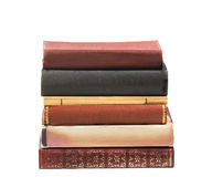 Stack of six vintage books Stock Photography