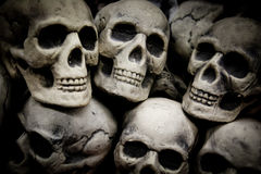 Stack of Skulls Stock Photos