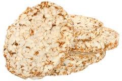Stack slice of crispbread Stock Photo