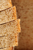 Stack of Sliced Brown Bread Stock Photography