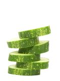 Stack of Sliced Cucumber Stock Images