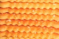 Stack Of Slices of Crispbread. Stock Photos