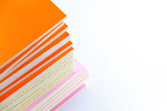 Stack of Small Books Royalty Free Stock Photography