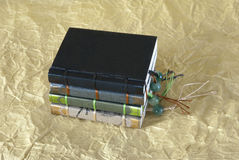 Stack of small books Stock Photos