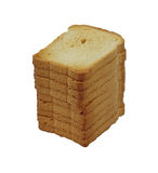 Stack of Small Toast Royalty Free Stock Photos