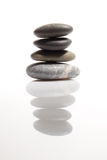 Stack of smooth stones Stock Photos