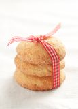 Stack of snickerdoodles Royalty Free Stock Image