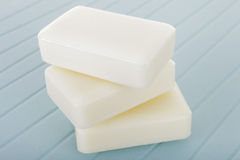 Stack of soap Royalty Free Stock Photography