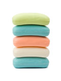 Stack of soap Royalty Free Stock Image