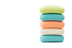 Stack of soap Stock Photography