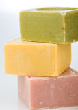 Stack of soaps Royalty Free Stock Photo