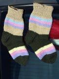 stack sockor Fotografering för Bildbyråer