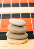 Stack of spa pebbles Stock Images