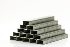 Stack of Staples Stock Photography