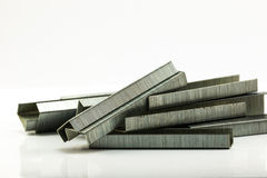 Stack of Staples Royalty Free Stock Photos