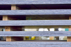 Stack of steel plate Stock Images