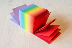 Stack of Sticky Note Pads Royalty Free Stock Photos