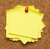 Stack of Sticky Notes Stock Images