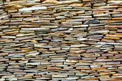 Stack of stone pattern Royalty Free Stock Image