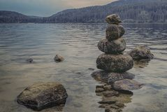 Stack Of Stones stock photography