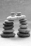 Stack of stones, bond in family relationship Royalty Free Stock Photography