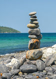 Stack of stones Royalty Free Stock Photography