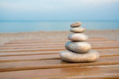 Stack of stones Royalty Free Stock Image