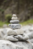 Stack of stones Royalty Free Stock Photos
