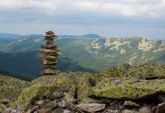 Stack of stones zen. Stock Images