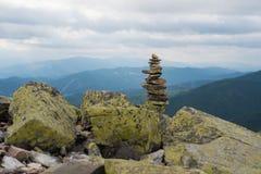 Stack of stones zen. Stock Photography