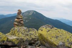 Stack of stones zen. Stock Image