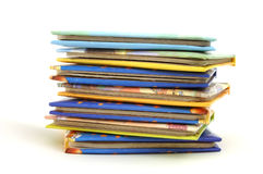 Stack of story book Royalty Free Stock Photos