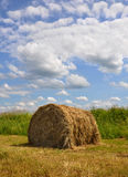 Stack from straw Royalty Free Stock Photo