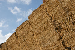 Stack of straw - 3 Royalty Free Stock Photos
