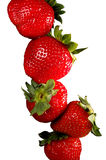 Stack of strawberries Royalty Free Stock Photography