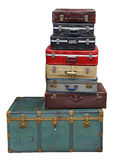 Stack of suitcases and luggage Stock Photography
