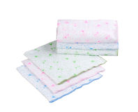 Stack of swaddling bands Stock Image