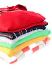 stack of sweaters Stock Images