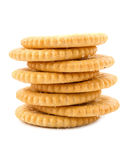 Stack of sweet sugar cookies Royalty Free Stock Photos